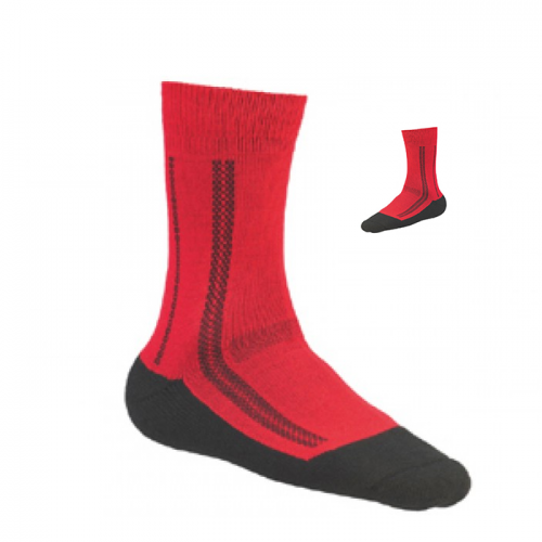 Extra Warme Sokken Thermo MS2 - Rood